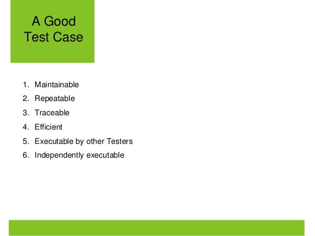 Writing Test Cases In Agile