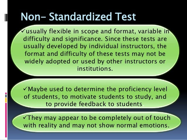 "standardized tests are insufficient essay Why is this section entitled ""the standardized essay"", and not simply ""the essay"" this is because a standardized test essay, while similar in structure and basic principles to any long."