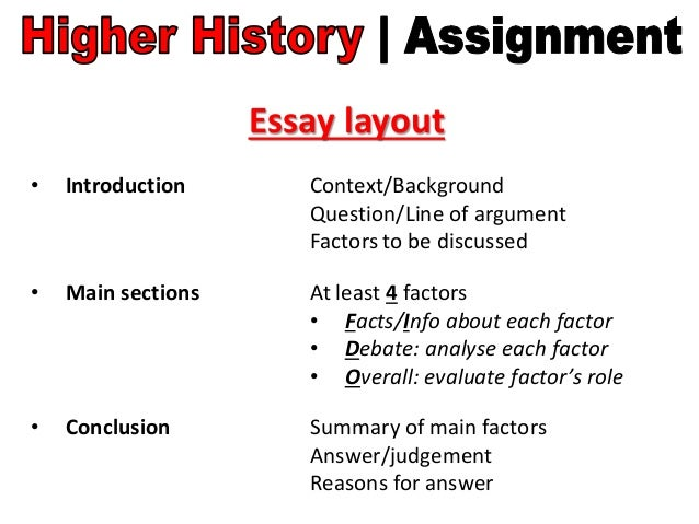 contextual factors essays However, contextual essays, like all essays, have an introduction, a body and a conclusion write the introduction based on the action in the piece this shows that you have identified the context of the writing.