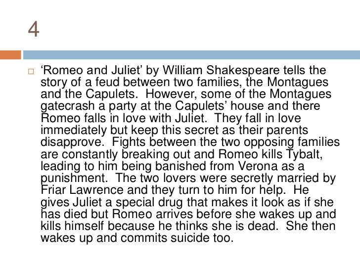 Romeo and Juliet Essay Introduction | Cram