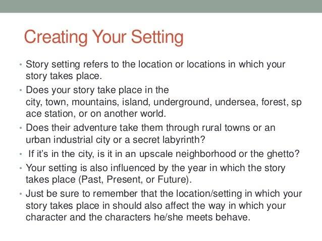 an essay that takes the reader through a town