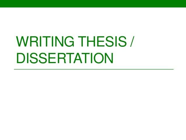 mini thesis example