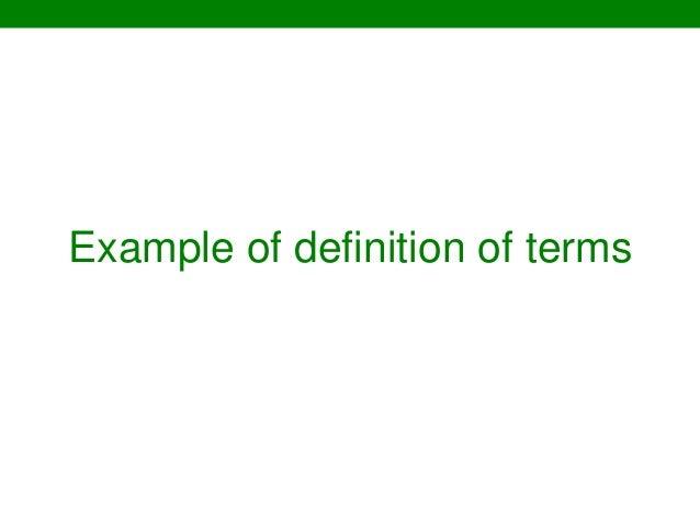 Glossary of Homework Words