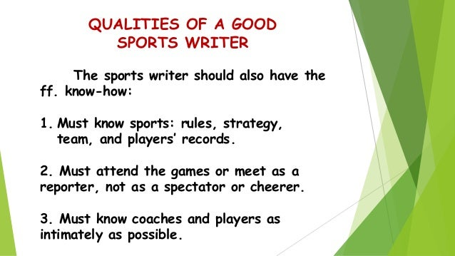 narrative essay sports injury Essays - largest database of quality sample essays and research papers on research paper on sports injuries first-person narrative 821 words.