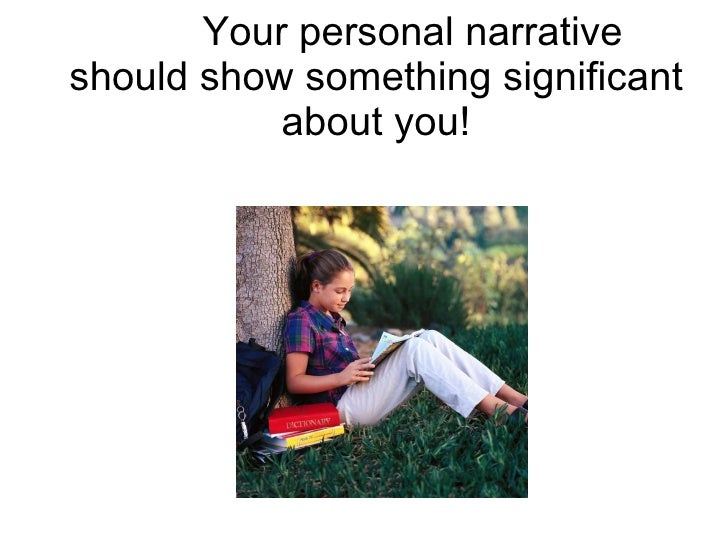 Personal Narrative - PowerPoint PPT Presentation