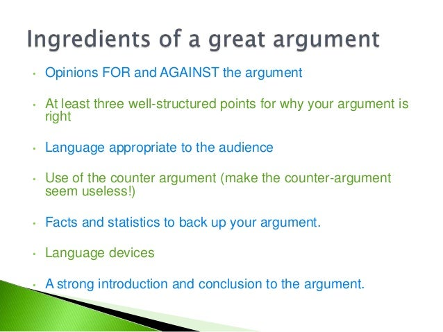Rhetoric and Composition/Argument