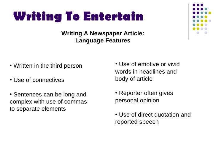 speech to entertain essay for Free entertainment speech papers, essays, and research papers.