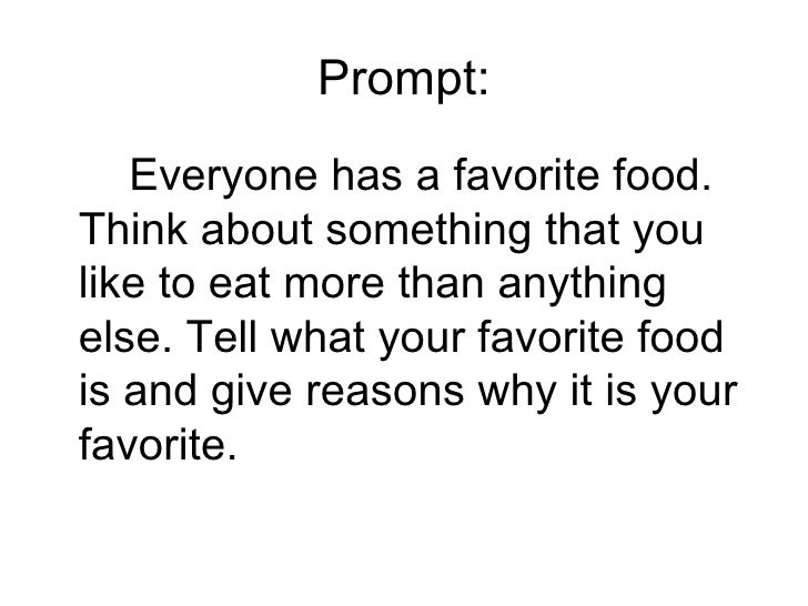 write an expository essay on my favourite food