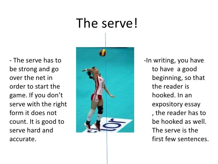 volleyball essays Free essay: volleyball the sport of volleyball was created by a man named  william g morgan of holyoke, massachusetts in 1895 morgan was a physical.