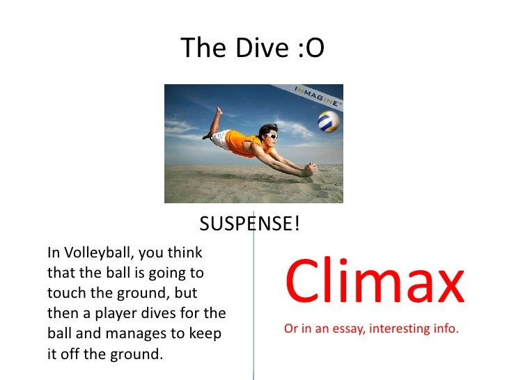 descriptive essay volleyball