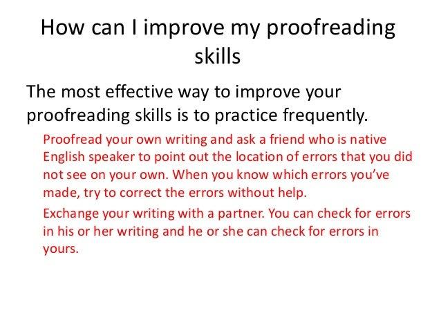 How do i improve my essay writing skills