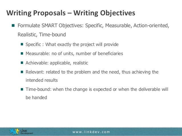 writing proposals - Writing A Proposal