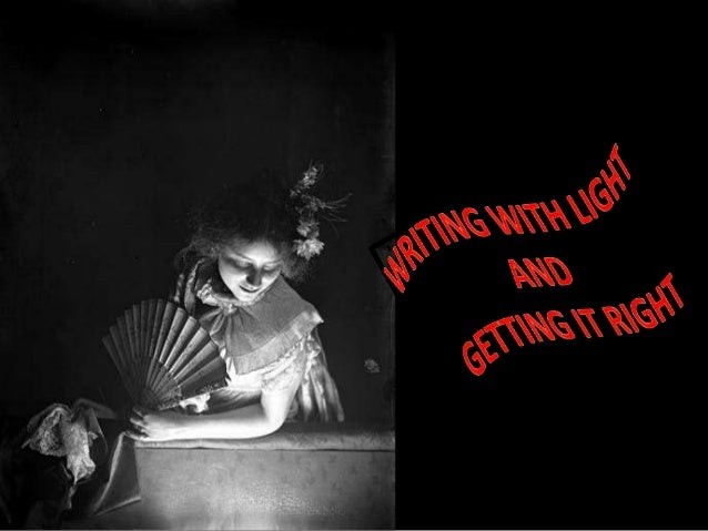 writing with light photography Vittorio storaro: writing with light: volume 1: the light [vittorio storaro] on  and  image-making in general, by one of the finest directors of photography working.
