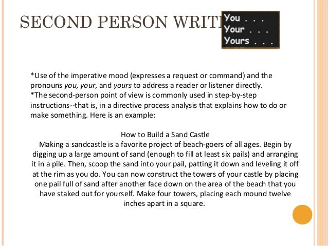 Second person point of view essay