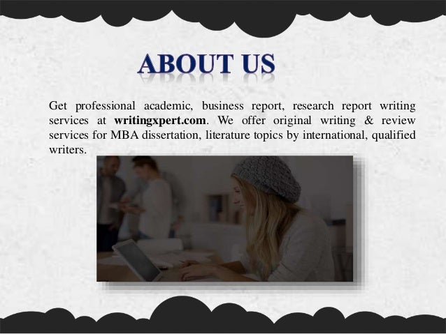 Professional report writing services uqu