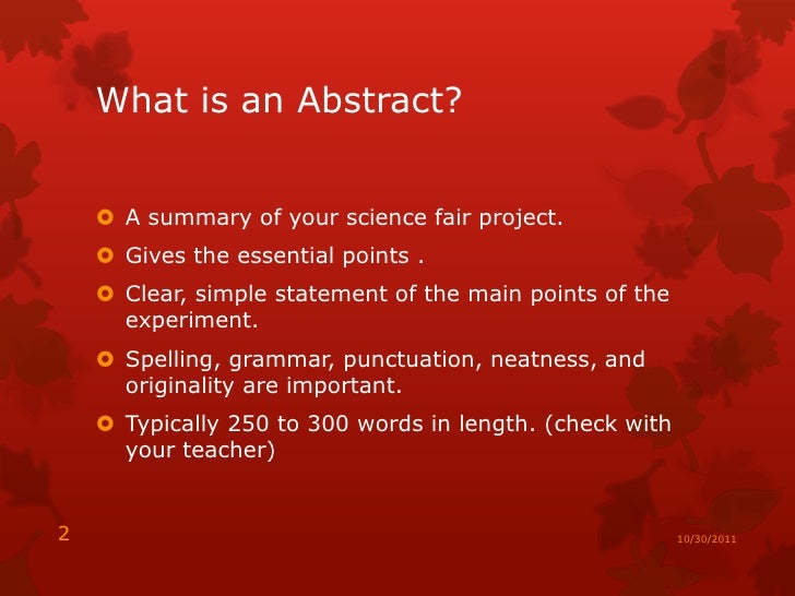How to Write an Abstract for a Grant Proposal