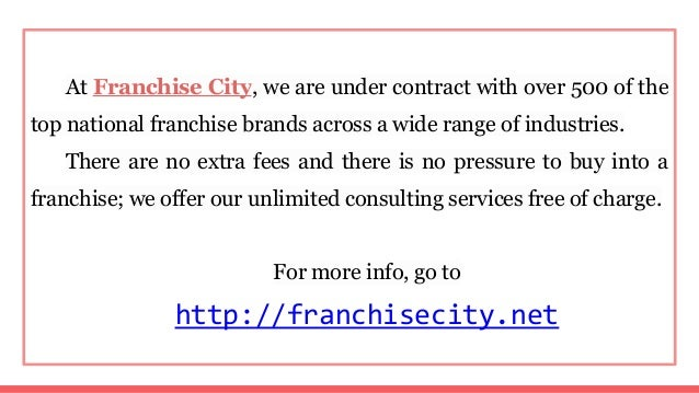 Buy an existing business or franchise