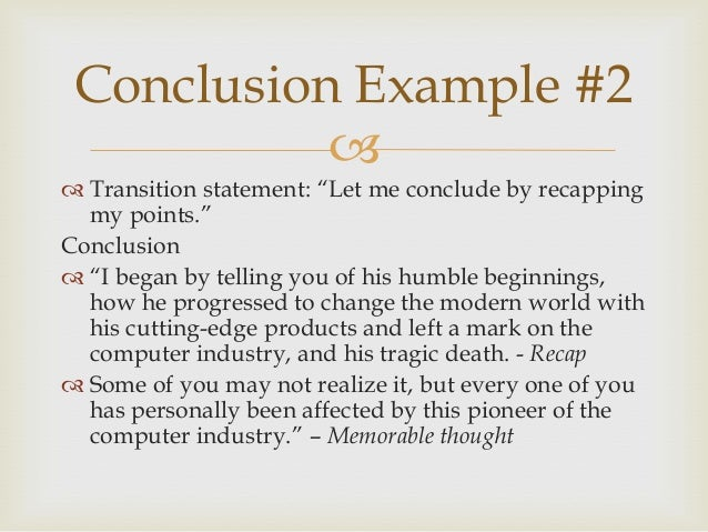good transitions for essay conclusions Ever write an essay, but have no idea how to end it writing a conclusion does not need to be a stressful task this lesson outlines several methods for writing a conclusion for a narrative essay.