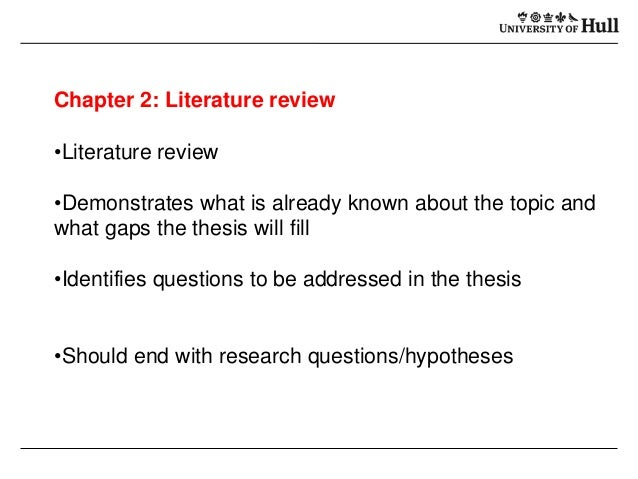 phd thesis aims and objectives