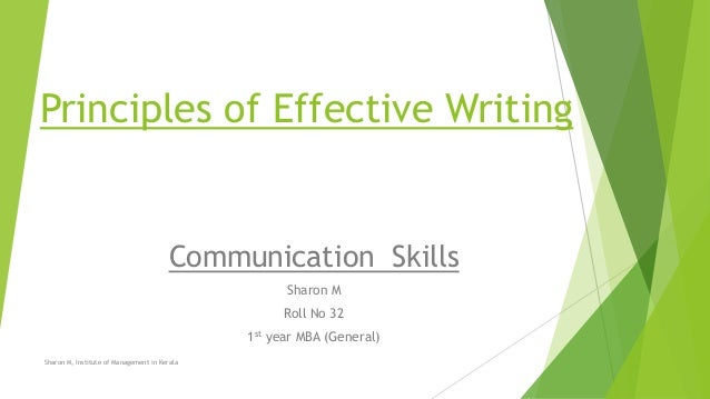 Essay on fundamentals of effective communication in