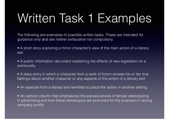 written task 1 There are two tasks candidates are required to write at least 150 words for task 1 and at least 250 words for task 2 both responses should be written in a formal style ielts academic task 1 you will be asked to describe some visual information (graph/table/chart/diagram), and to present the description in your own words.