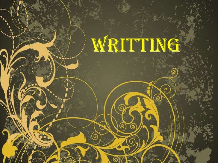 WRITTING<br />