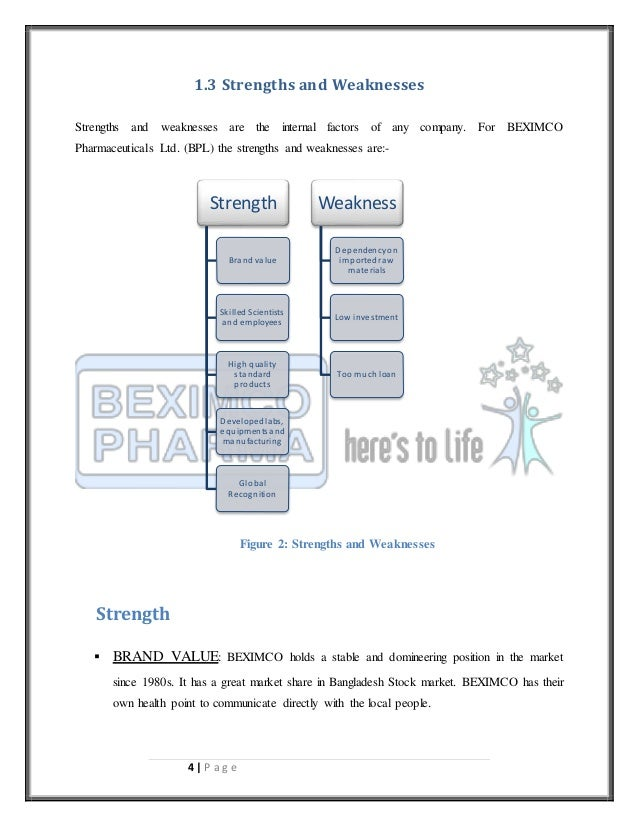 internship report beximco pharmaceuticals ltd Performance evaluation and ratio analysis of pharmaceutical company in  beximco pharmaceutical company ltd is one of the largest  does not report profits,.