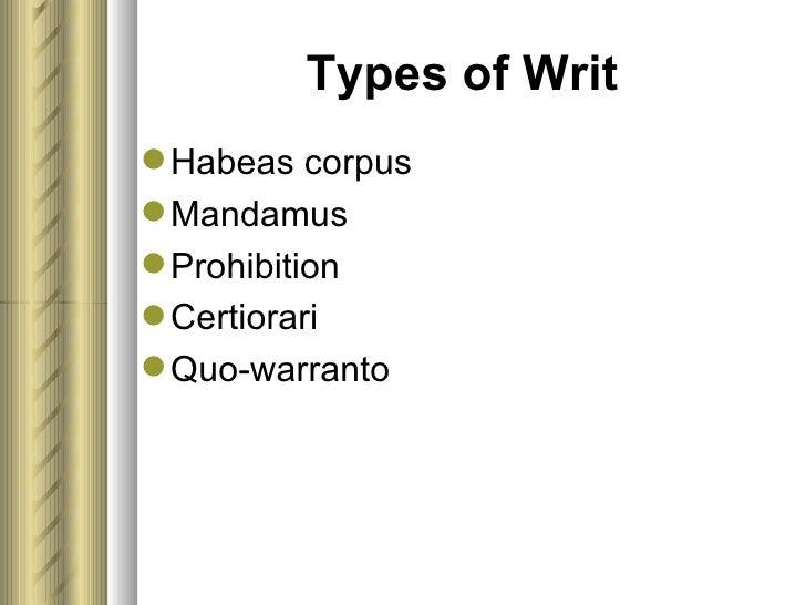 writ define