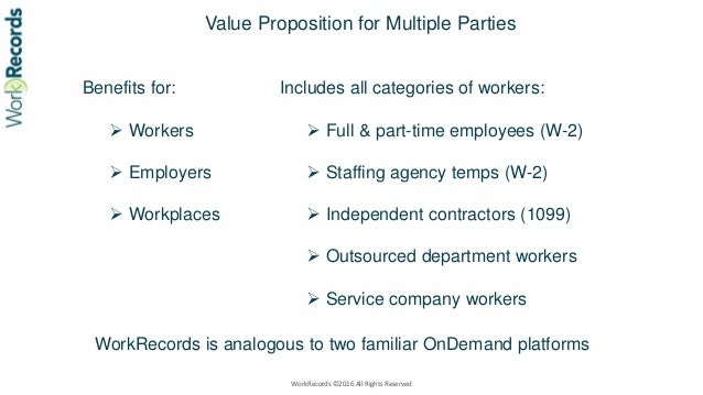 WorkRecords labor platforms compared to travel and payments platforms ver 5.16 Slide 2