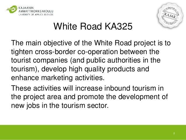 White Road - Cross-border Tourism Development Slide 2