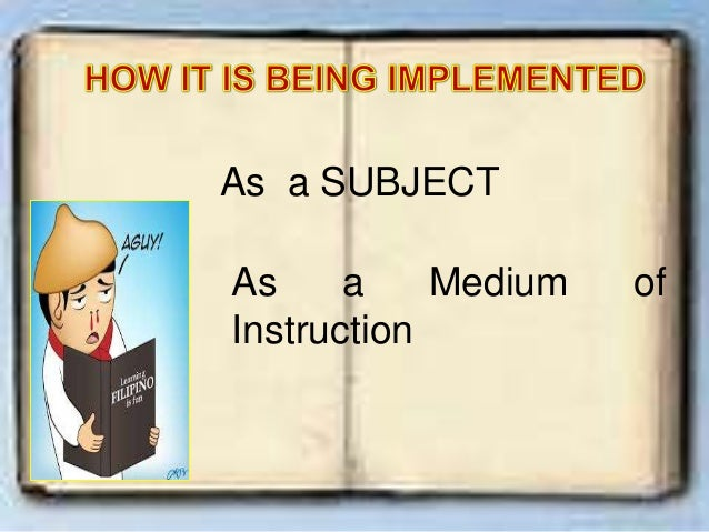 importance of english as medium of instruction