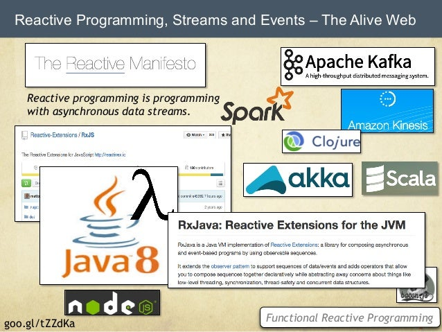 WebSocket Perspectives 2015 - Clouds, Streams, Microservices