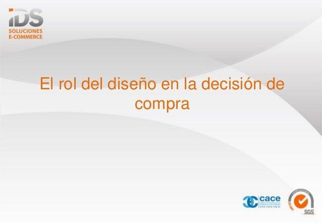El rol del diseño en la decisión de compra