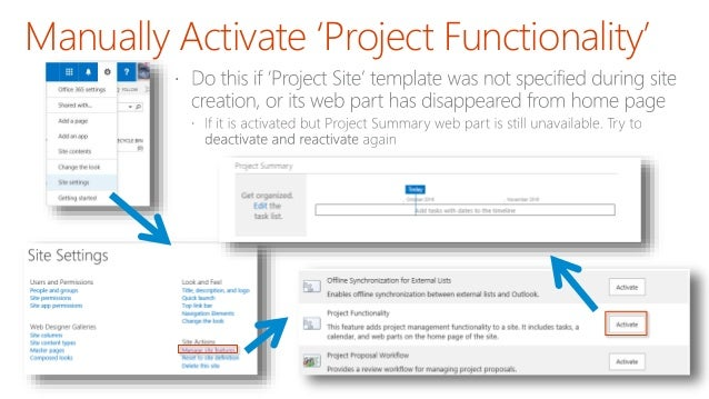 sharepoint project management
