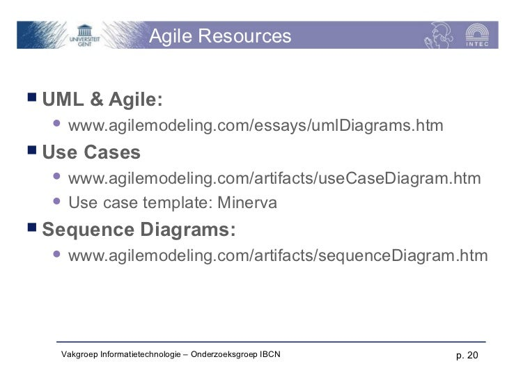agile artifacts templates - ws002 use cases