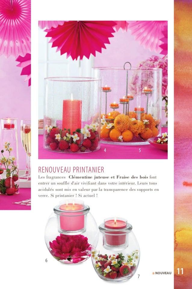 reNOuVeau PriNtaNier Les fragrances Clémentine juteuse et Fraise des bois font entrer un souffle d'air vivifiant dans votr...