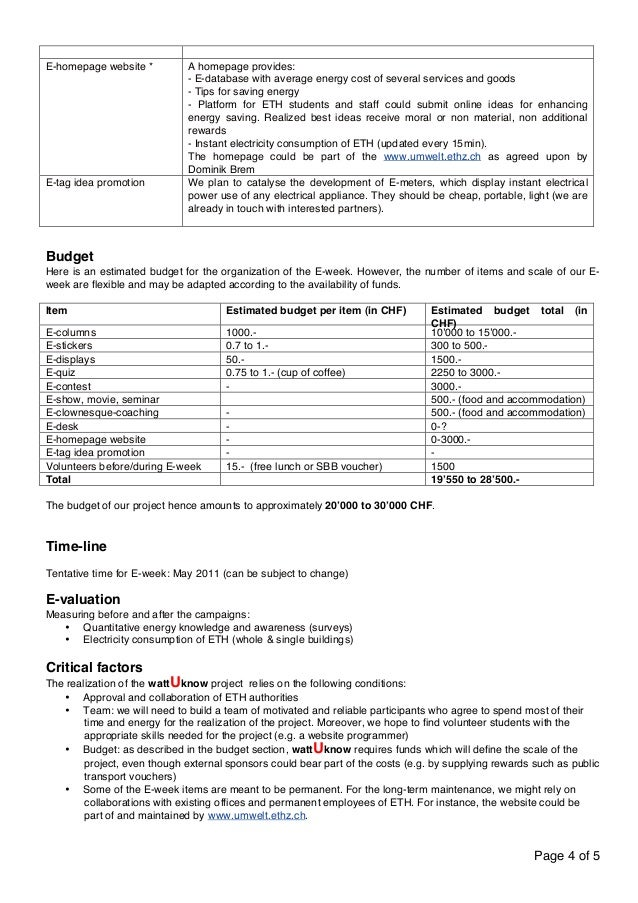 Page 4 of 5  E-homepage website * A homepage provides:  - E-database with average energy cost of several services and good...