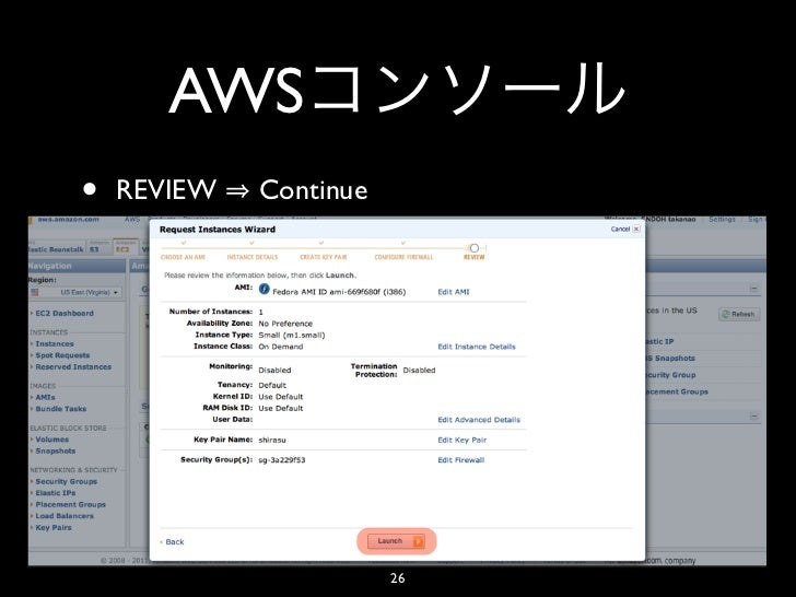 AWS•   REVIEW   Continue                        26
