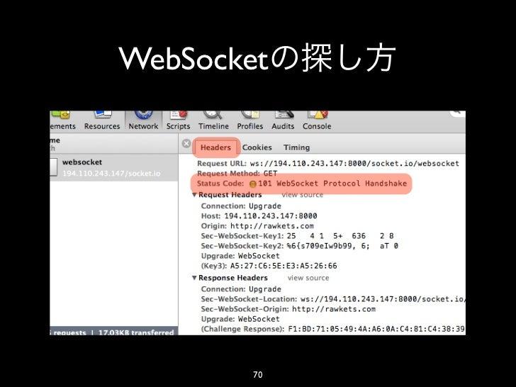 WebSocket        70