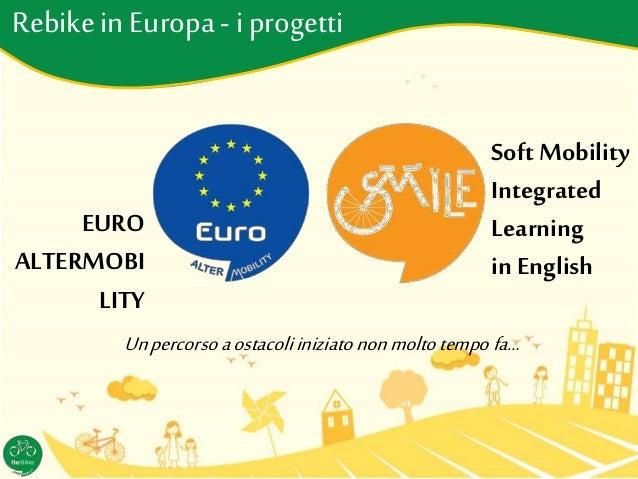 Rebikein Europa- i progetti EURO ALTERMOBI LITY Soft Mobility Integrated Learning in English Unpercorso aostacoliiniziaton...