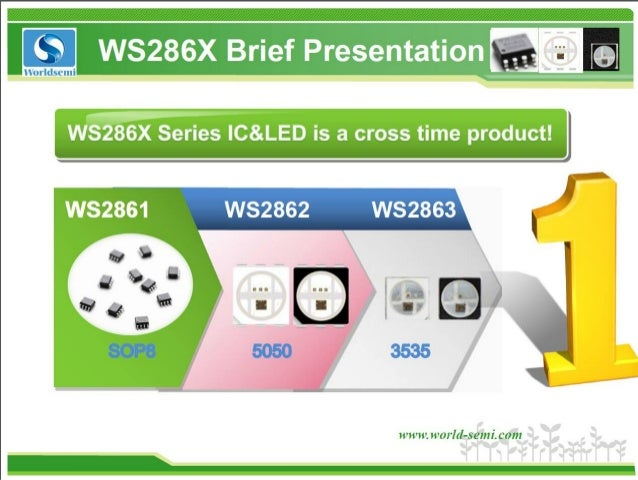 World Semi WS2861 RGB LED Controller