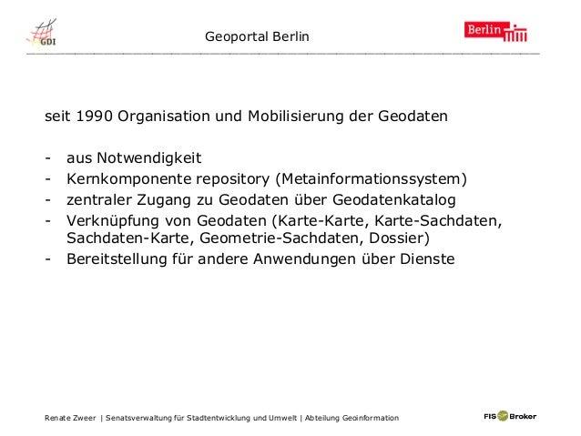 _____________________________________________________ seit 1990 Organisation und Mobilisierung der Geodaten - aus Notwendi...