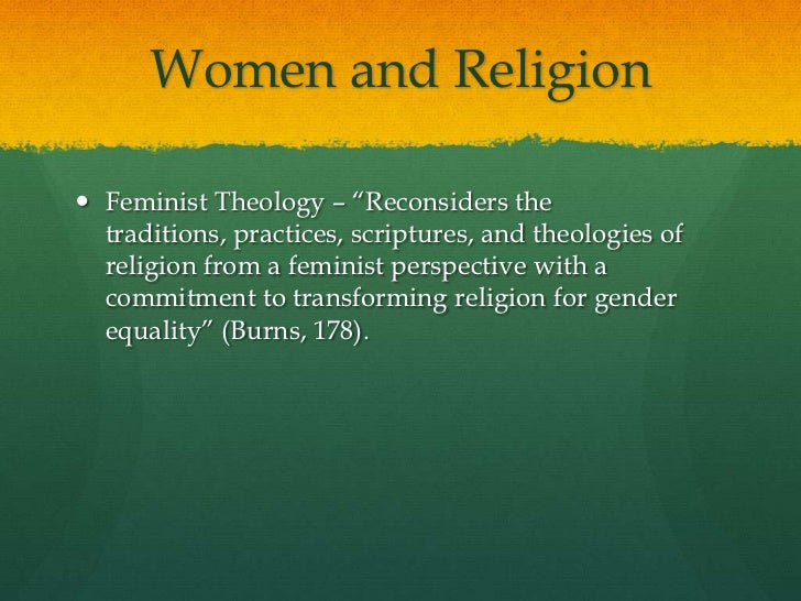 What Is Feminist Theology?