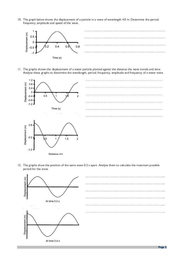 wave speed worksheet worksheets releaseboard free printable worksheets and activities. Black Bedroom Furniture Sets. Home Design Ideas