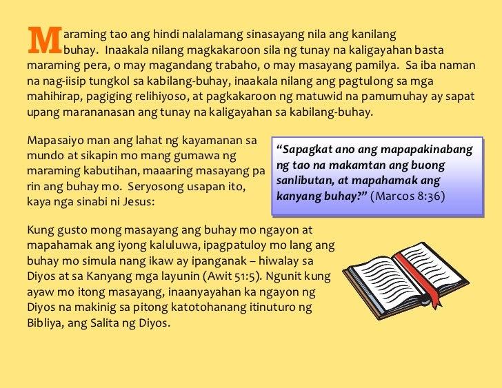 'Wag Sayangin ang Buhay Slide 2