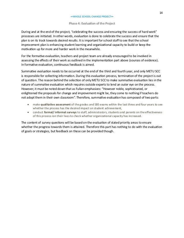 school improvement plan essay Ernest mcgowen sr elementary 6820 homestead houston, tx 77028-5045 713-636-6979 fax: accessibility.