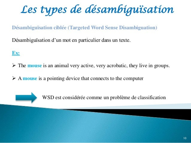 thesis on word sense disambiguation Word sense disambiguation for amharic teshome kassie a thesis submitted to 33 word sense disambiguation (wsd.