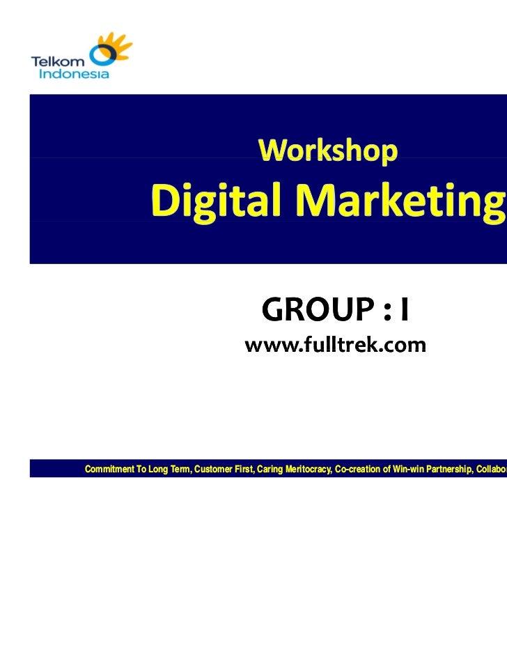 GROUP:I                                       www.fulltrek.comCommitment To Long Term, Customer First, Caring Meritocrac...