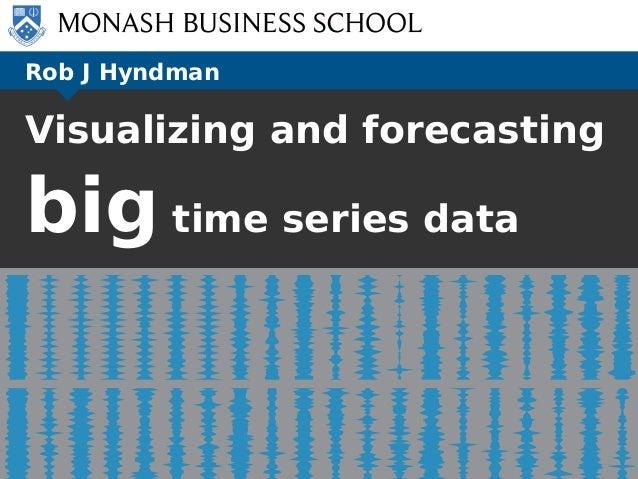 Rob J Hyndman Visualizing and forecasting big time series data Victoria: scaled