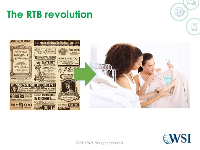 The RTB revolution  ©2014 WSI. All rights reserved.